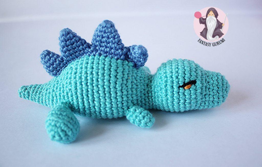 baby t-rex blue